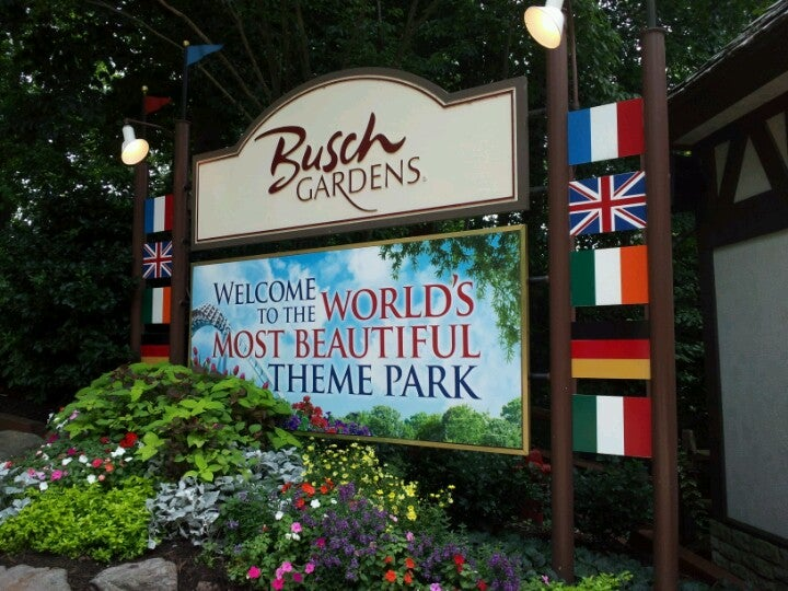 Busch gardens williamsburg at 1 busch gardens blvd williamsburg va for Busch gardens williamsburg va hours