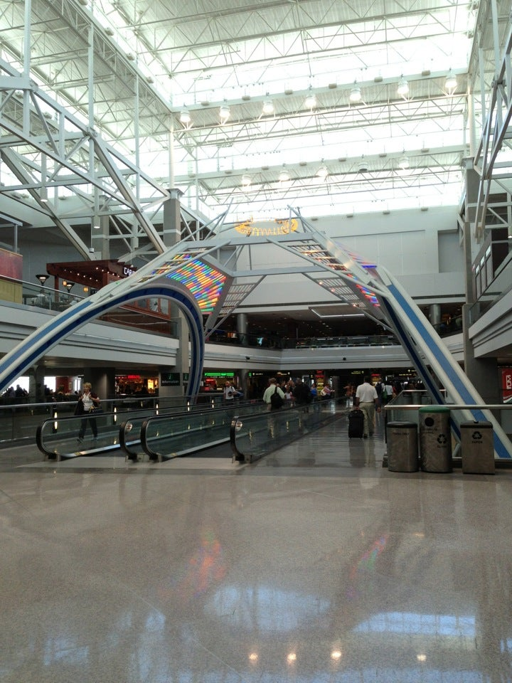 Denver Airport is situated approximately 23 miles from Downtown Denver. The airport consists of one main terminal building and three separate concourses. The terminal is named the Jeppesen Terminal and the concourses are A, B and C. All international arrivals are handled by Concourse A.