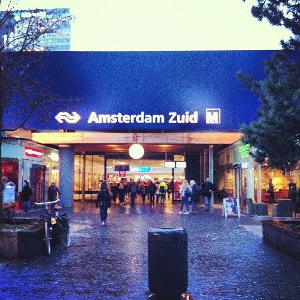 Amsterdam, Station Zuid