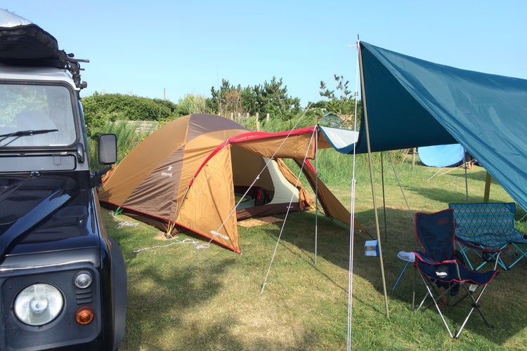 キャンプ 太陽 と 場 オート 海