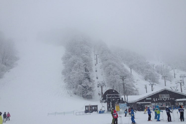 場 湯沢 中里 スキー
