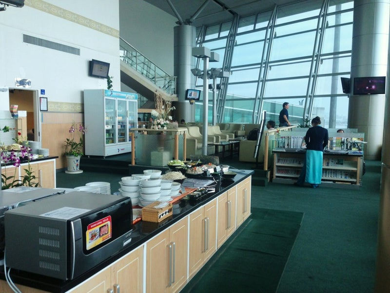 Orchid Lounge Ho Chi Minh Tan Son Nhat International Sgn Loungereview Com
