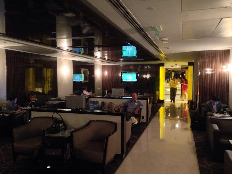 Singapore Airlines Silverkris Lounge New Delhi Indira Gandhi International Del