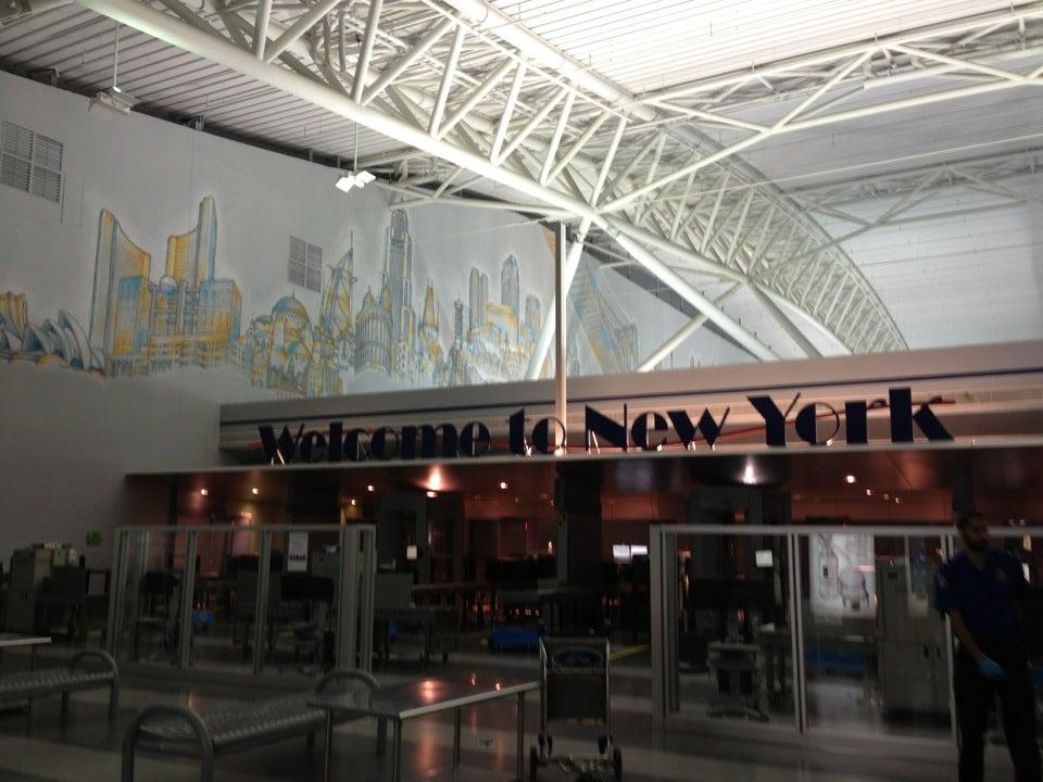 Jfk New York City John F Kennedy Intl Airport Flight Arrivals Amp Flight Departures Map Car