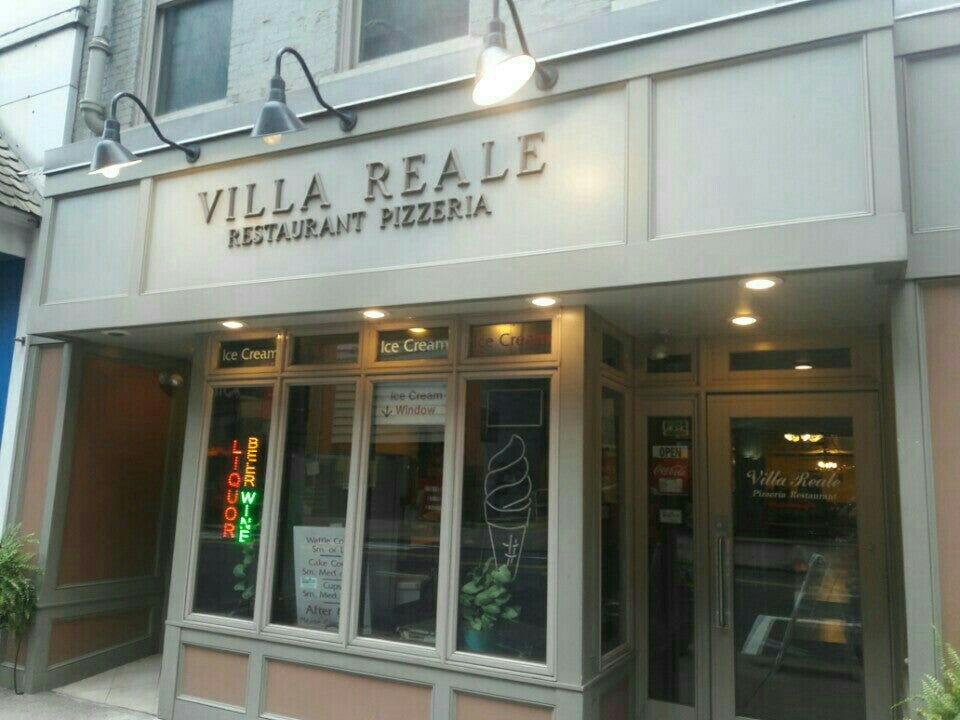 Villa Reale Pizza Pittsburgh Menu
