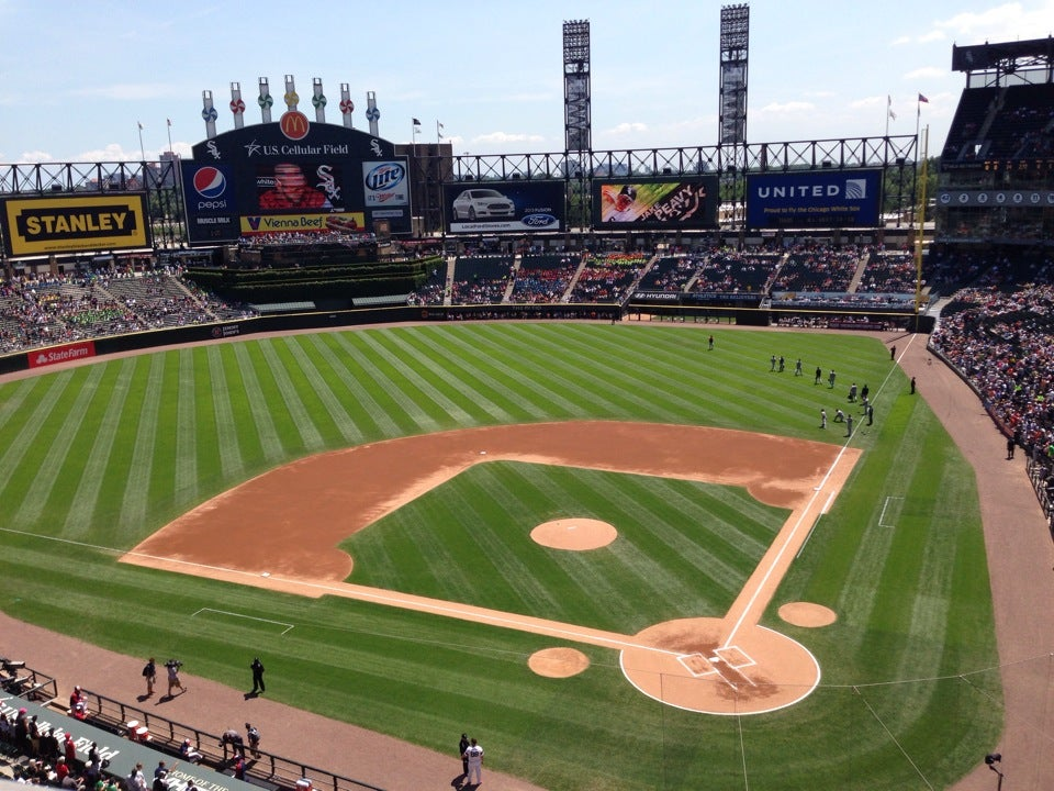 Guaranteed Rate Field At W Th St At Wentworth Ave Chicago - Us cellular fields map
