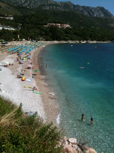 Beii Map Budva Riviera Montenegro Mapcarta