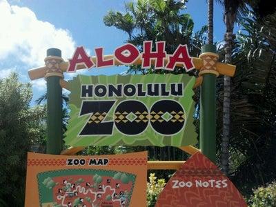 Honolulu Zoo Map Hawaii Mapcarta