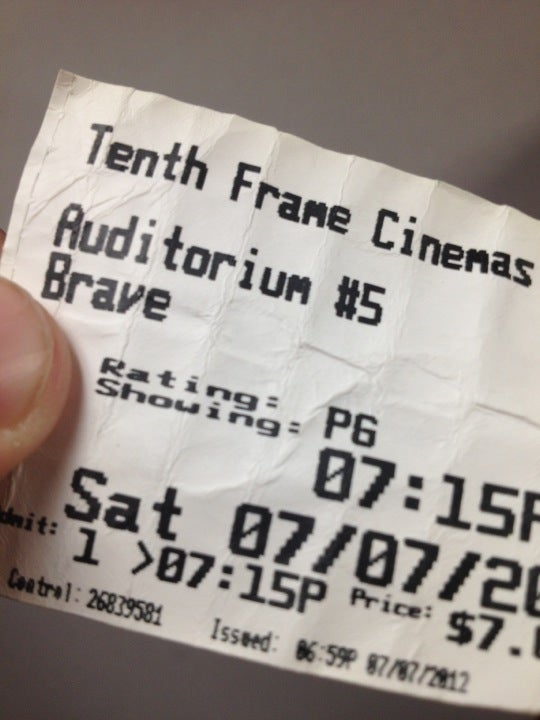 at tenth frame cinemas by bradley haddix