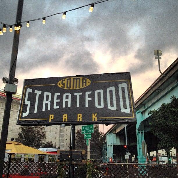 Soma Streat Food Park  Th Street San Francisco Ca