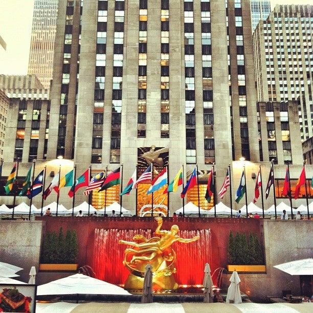 Rockefeller Center Plaza New York Tickets Schedule