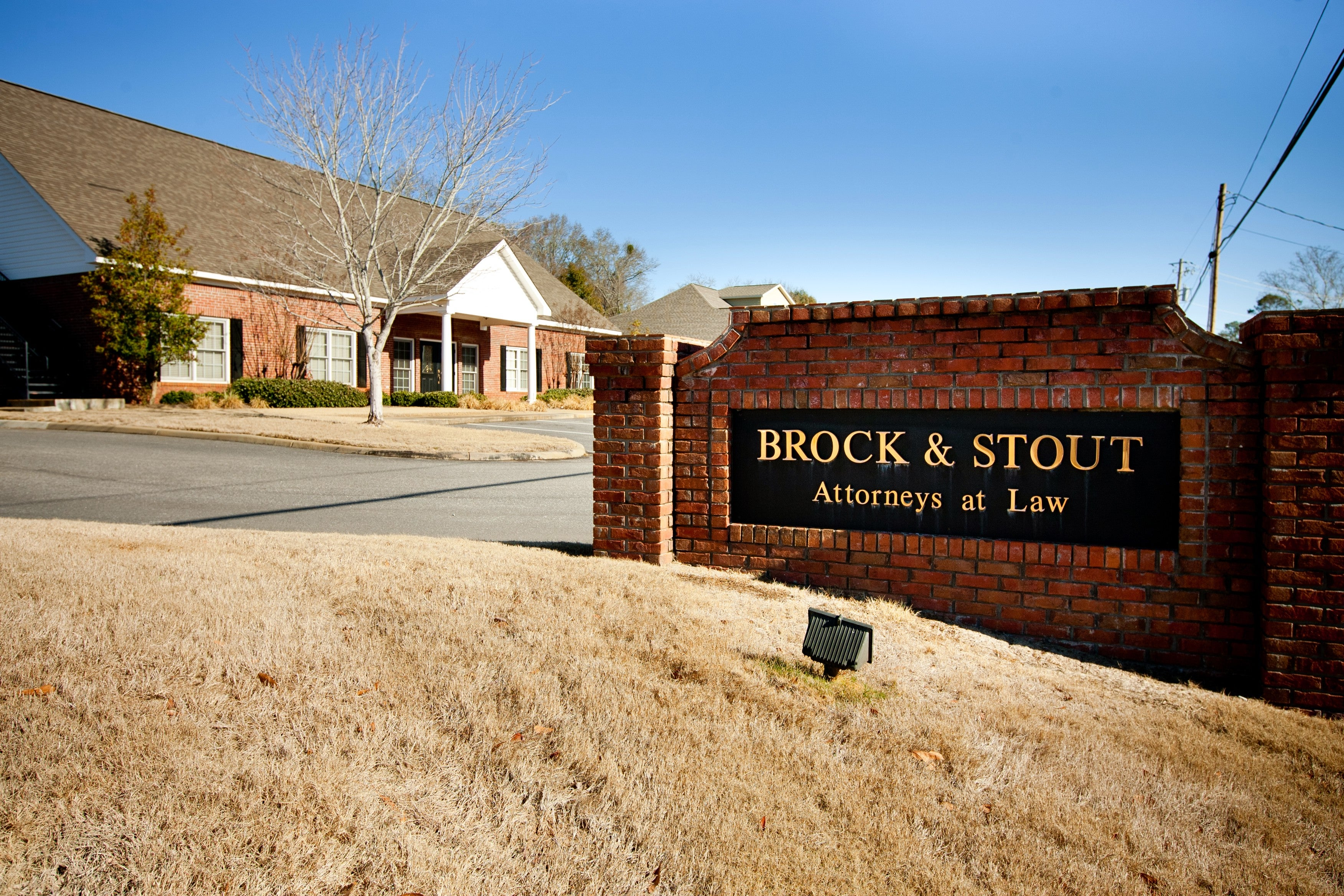 BROCK & STOUT ATTORNEYS AT LAW,