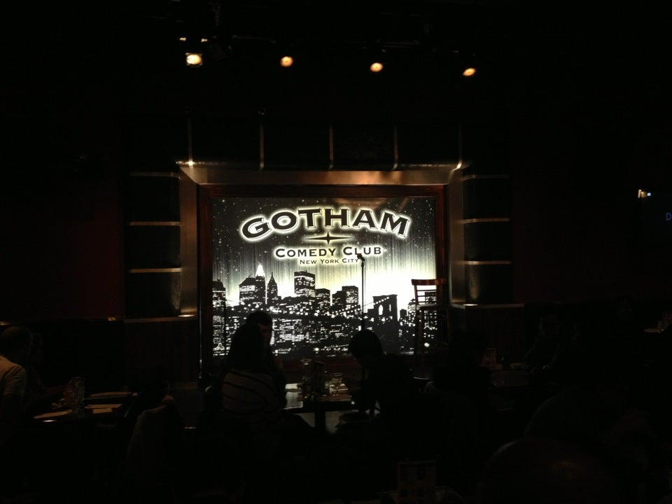 Gotham Comedy Club is located in New York City and hailed by USA Today as