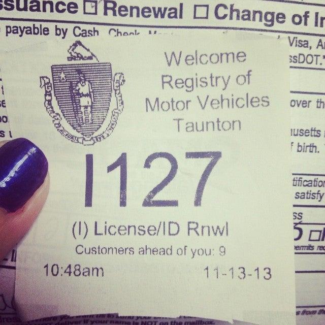 Registry Of Motor Vehicles Taunton Ma Impremedia Net