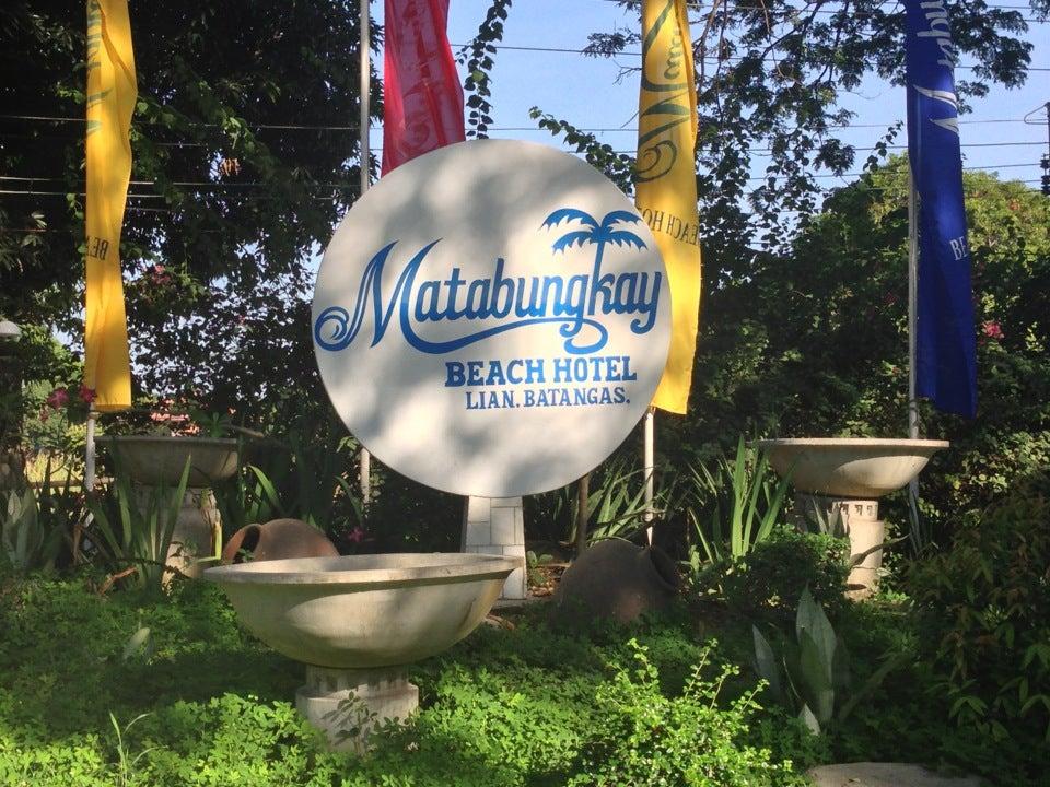 Tribu de matabungkay beach Resort