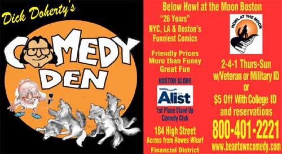 Dick Doherty's Comedy Den,
