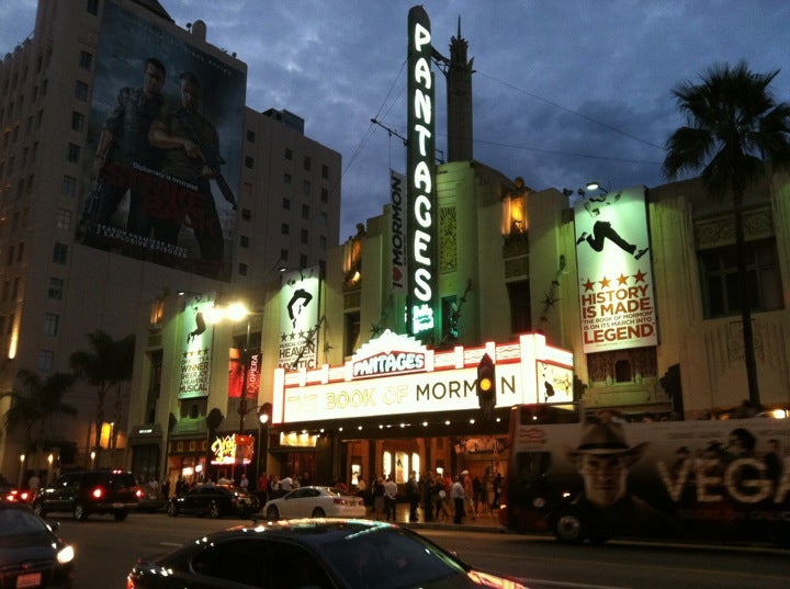 Hotels Near Pantages Los Angeles