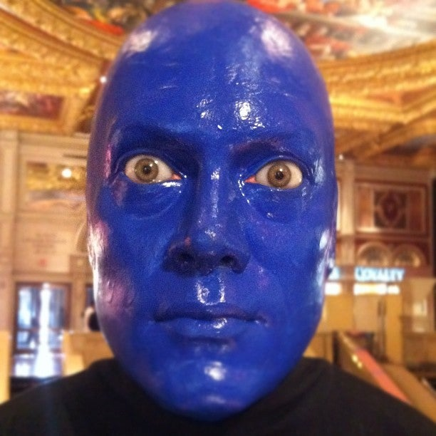 Blue Man Theatre Las Vegas Tickets Schedule Seating