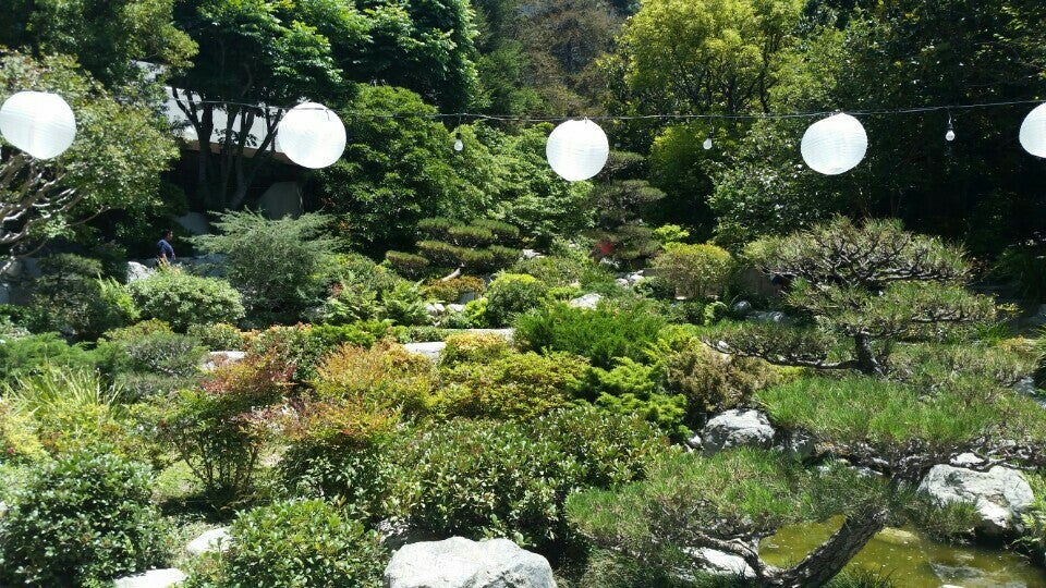 James Irvine Japanese Garden At The JACC In Los Angeles ...