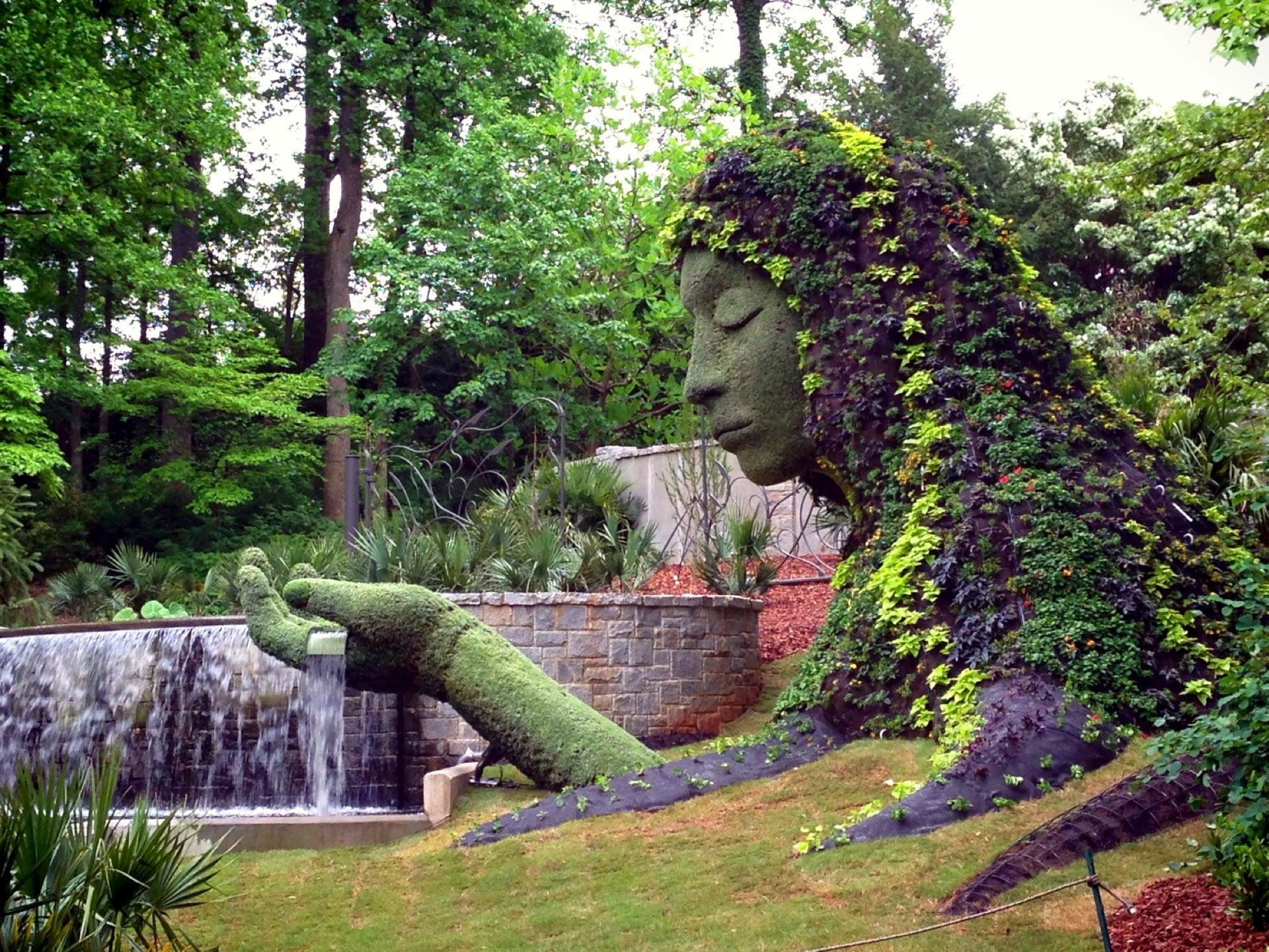 atlanta botanical garden around guides