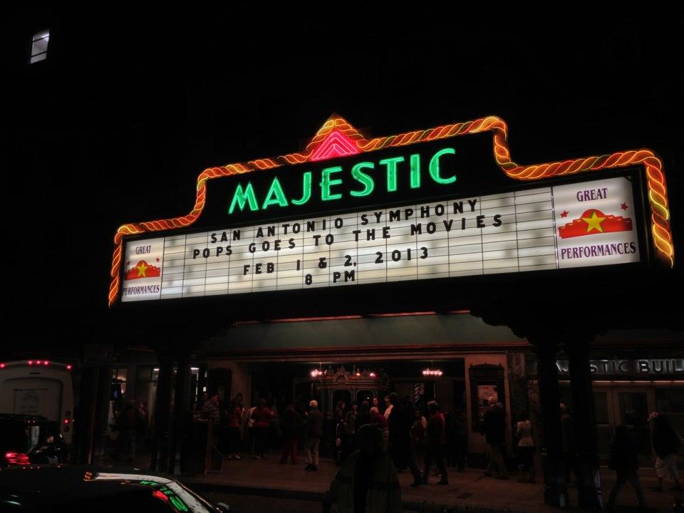 The Majestic Theatre San Antonio Tickets Schedule
