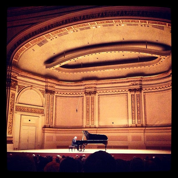 Stern Auditorium Perelman Stage At Carnegie Hall New