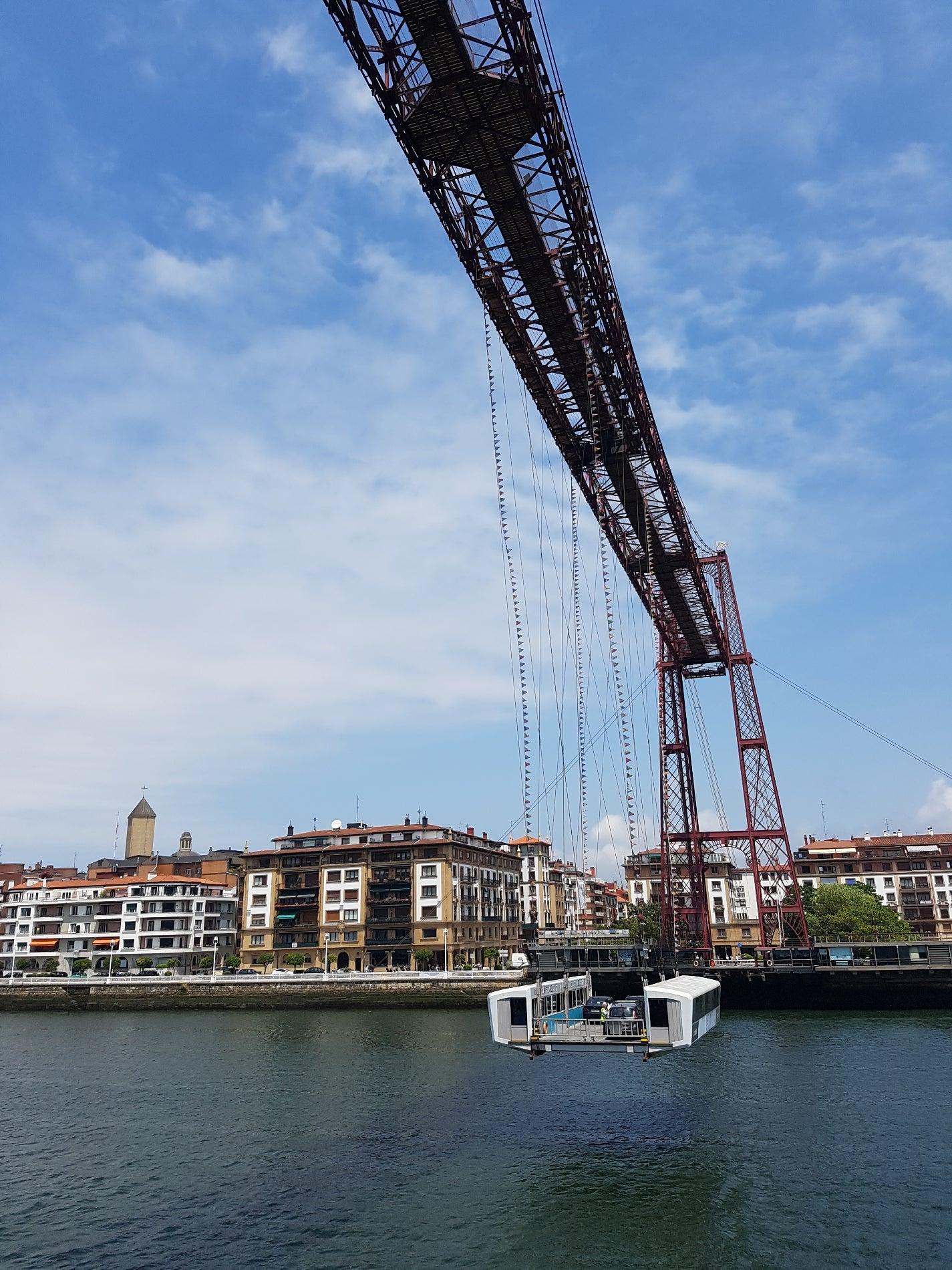 Biscay's Bridge (Puente de Bizkaia)