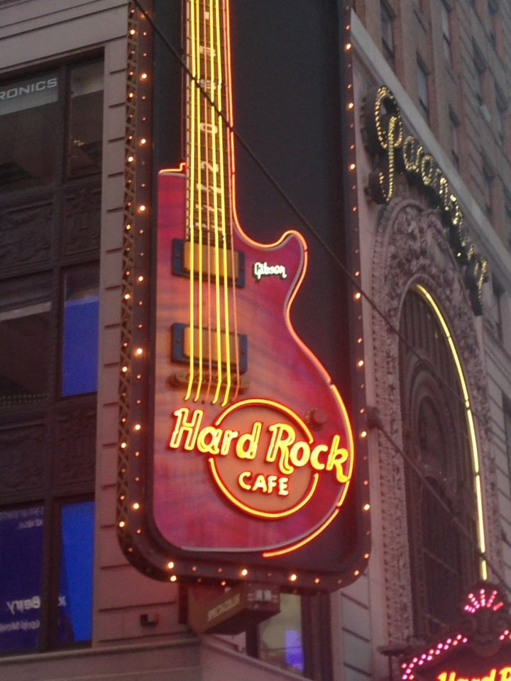 Hard Rock Cafe Before Chicago