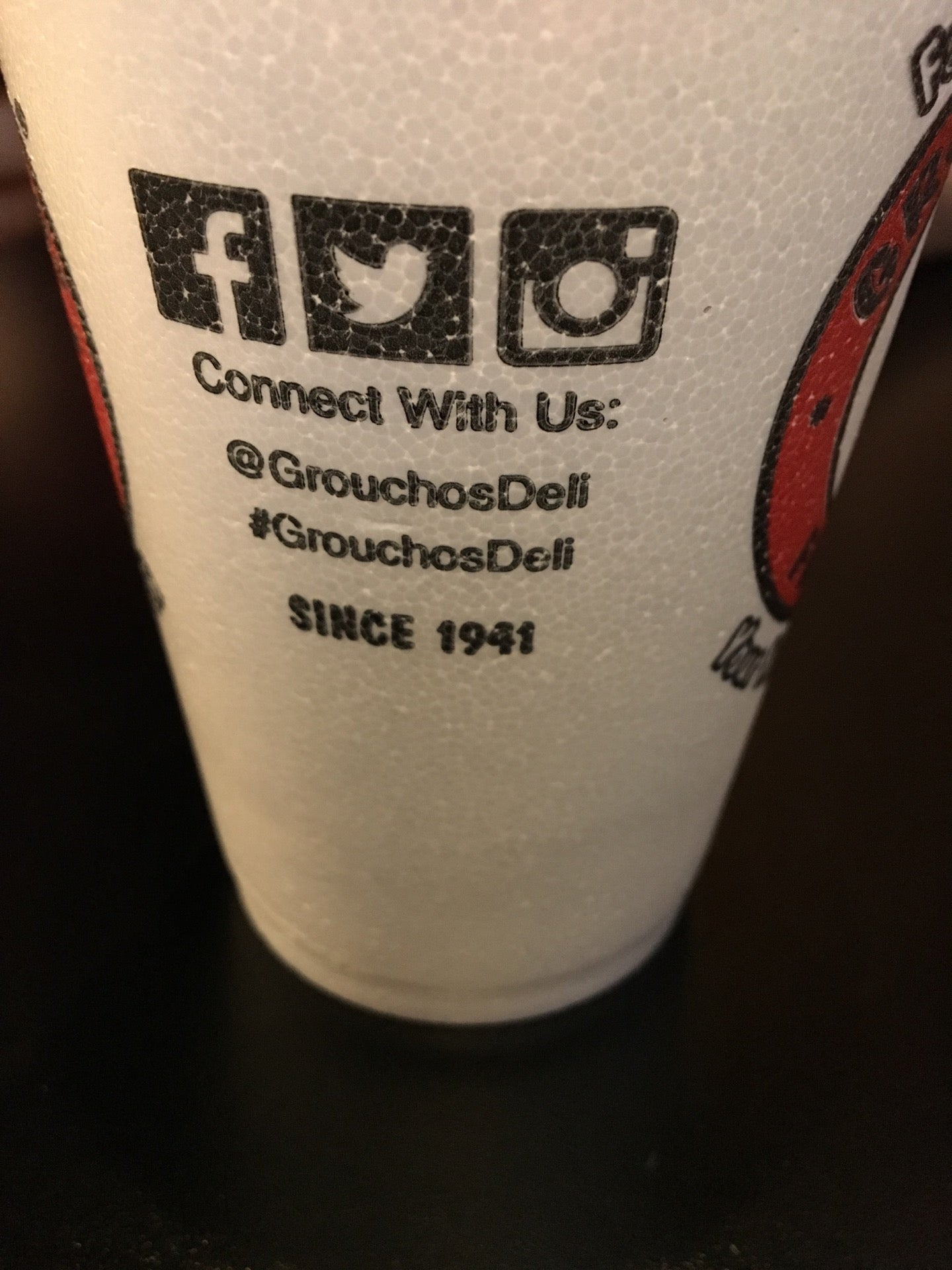 GROUCHO'S DELI,