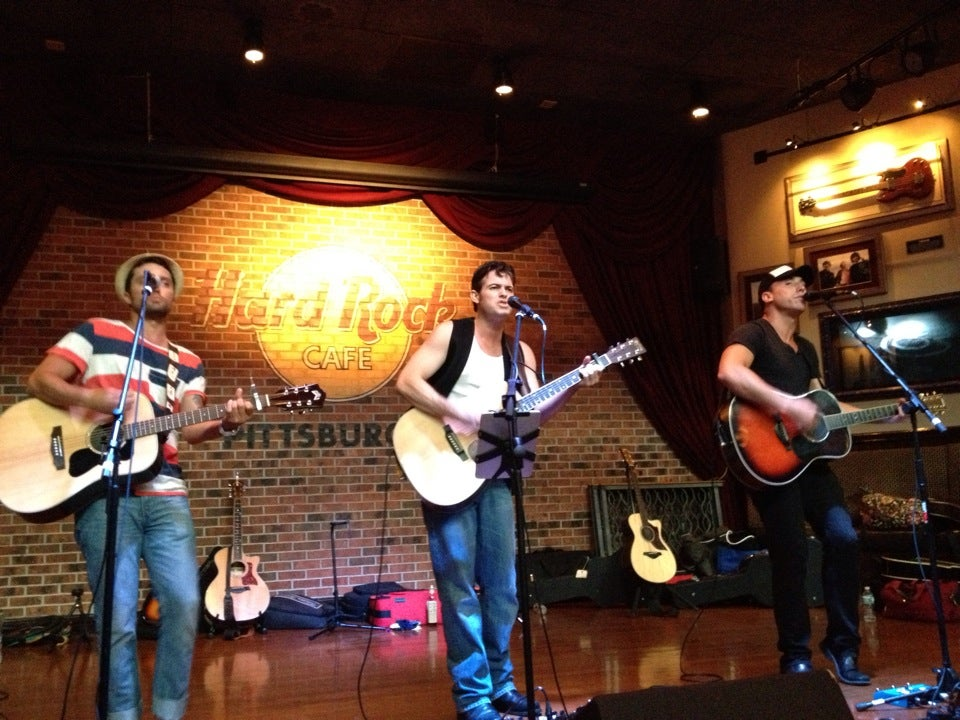 Hard Rock Cafe Pittsburgh Schedule