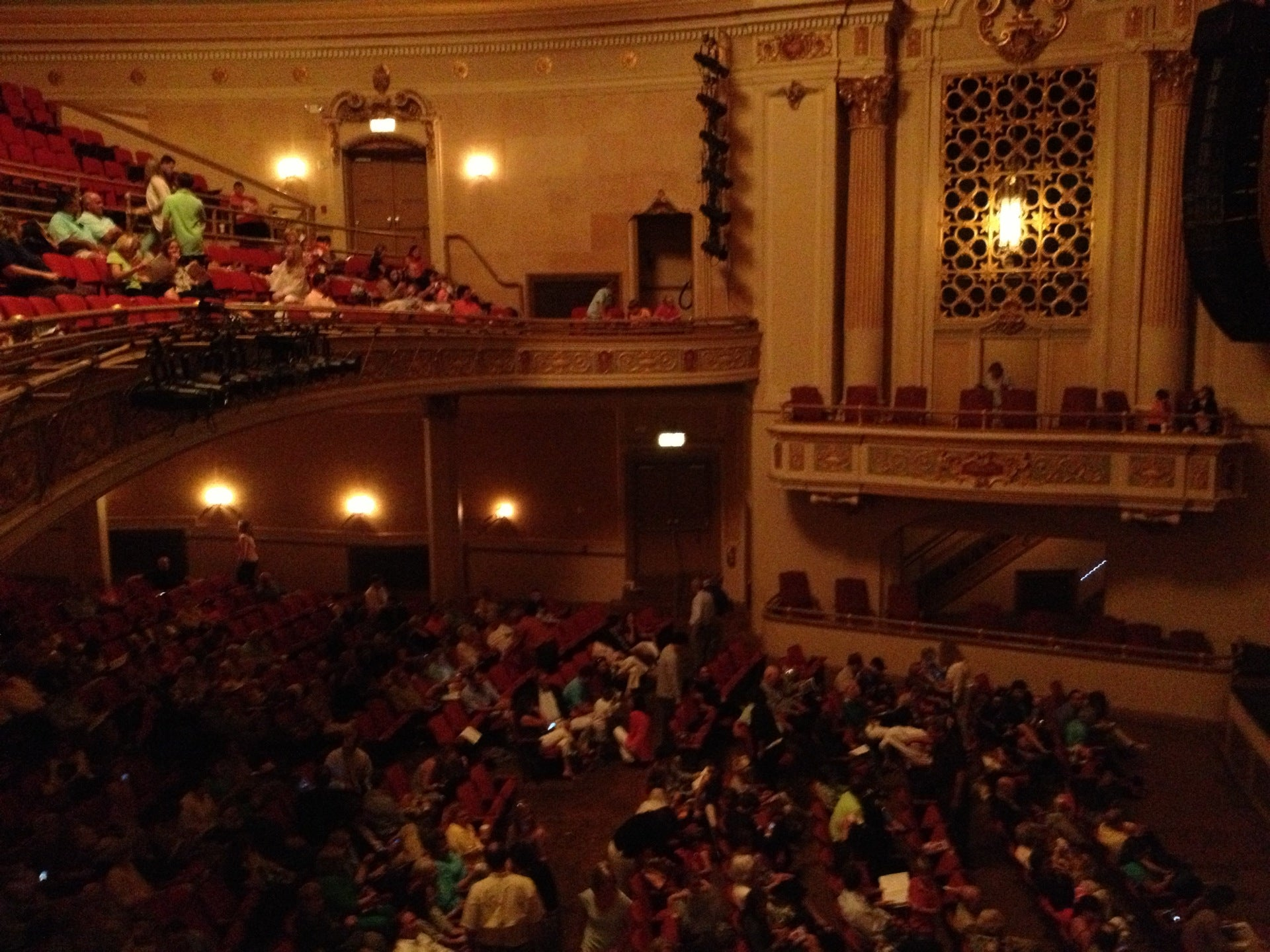 Saenger Theatre Mobile Tickets Schedule Seating Charts