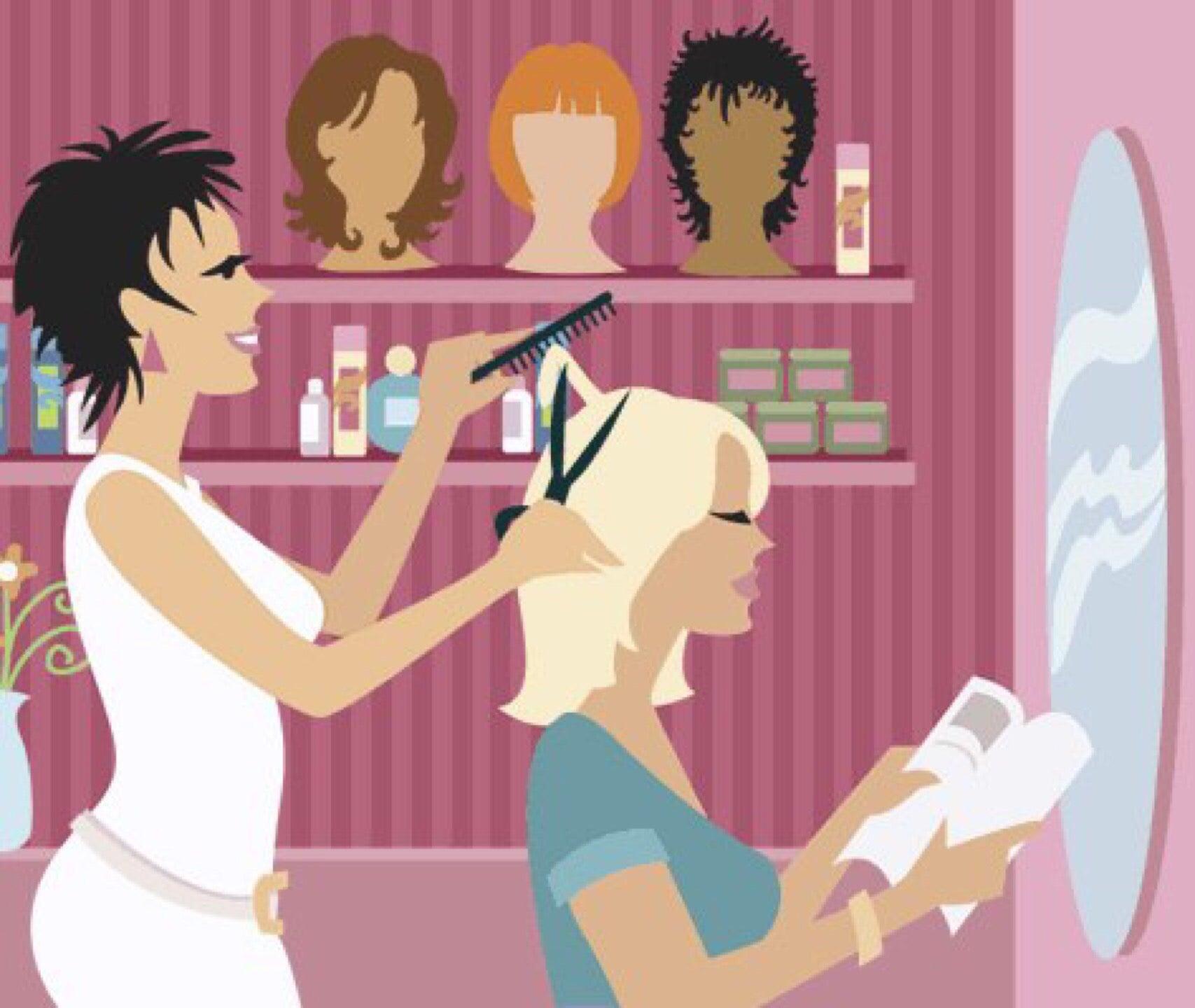 Картинки про, открытки с открытием парикмахерской