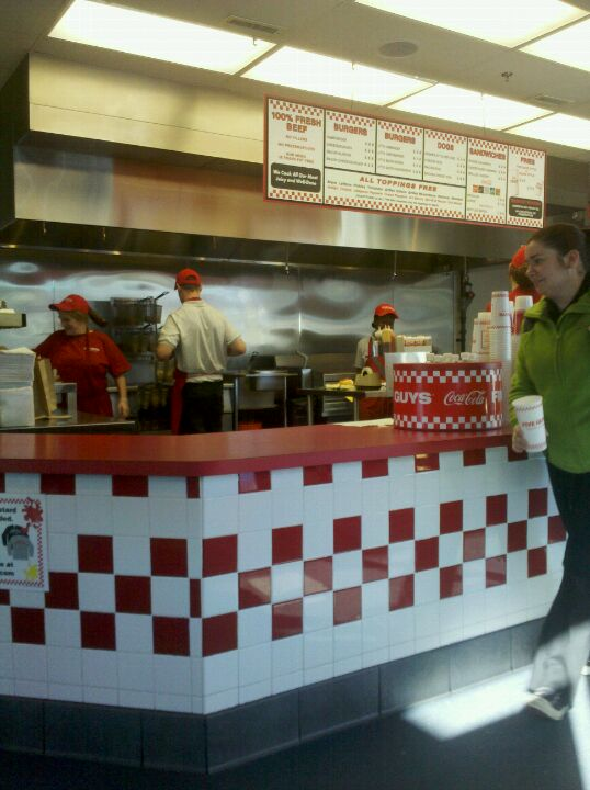 Five Guys Burgers and Fries,burgers,fries,peanuts