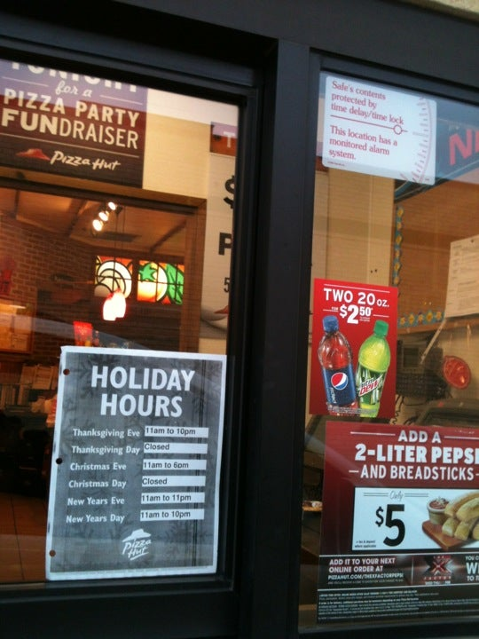 Pizza Hut Open Christmas Day.Pizza Hut In Rolling Meadows Parent Reviews On Winnie
