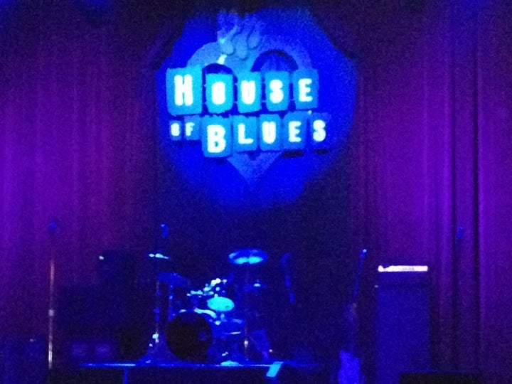 house of blues houston parking