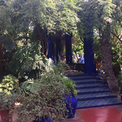 Jardin de Majorelle (حديقة ماجوريل)