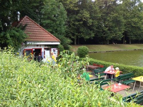 Kahnstation im Blücherpark