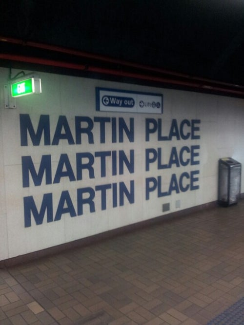 Martin Place Station