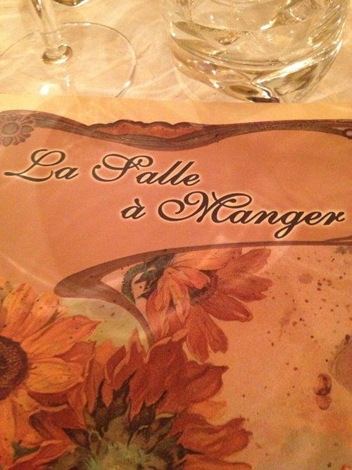 La Salle A Manger Restaurant A Salon De Provence France Guide De