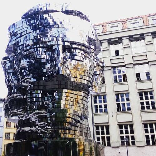 Hlava Franze Kafky Head of Franz Kafka