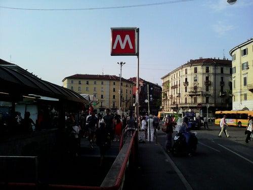 Milano porta genova stazione ferroviaria milano italia - Milano porta genova treni ...