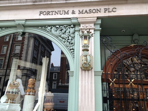 Fortnum and Mason: Diamond Jubilee Tea Salon