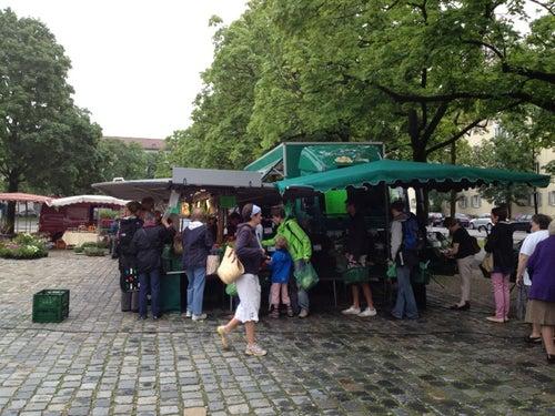 Wochenmarkt Mariahilfplatz