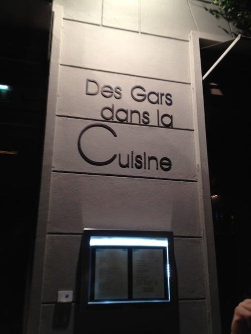 Des gars dans la cuisine restaurant in paris france - Les gars dans la cuisine ...