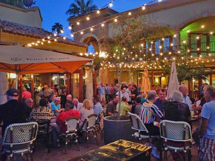 palm springs gay bar events