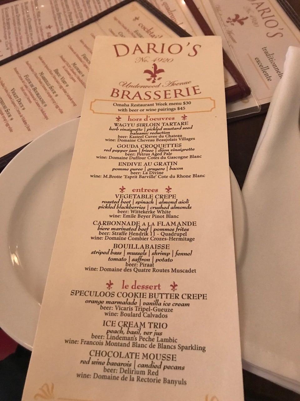 Photo of Dario's Brasserie
