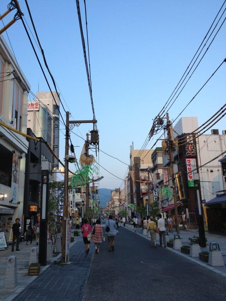 奈良 三条通り商店街・ショッピングモール