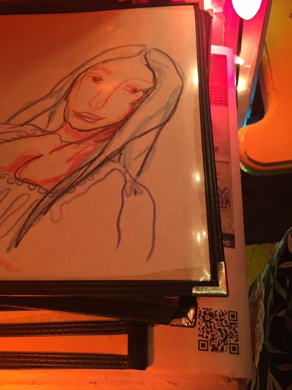 Photo of Mona Lisa