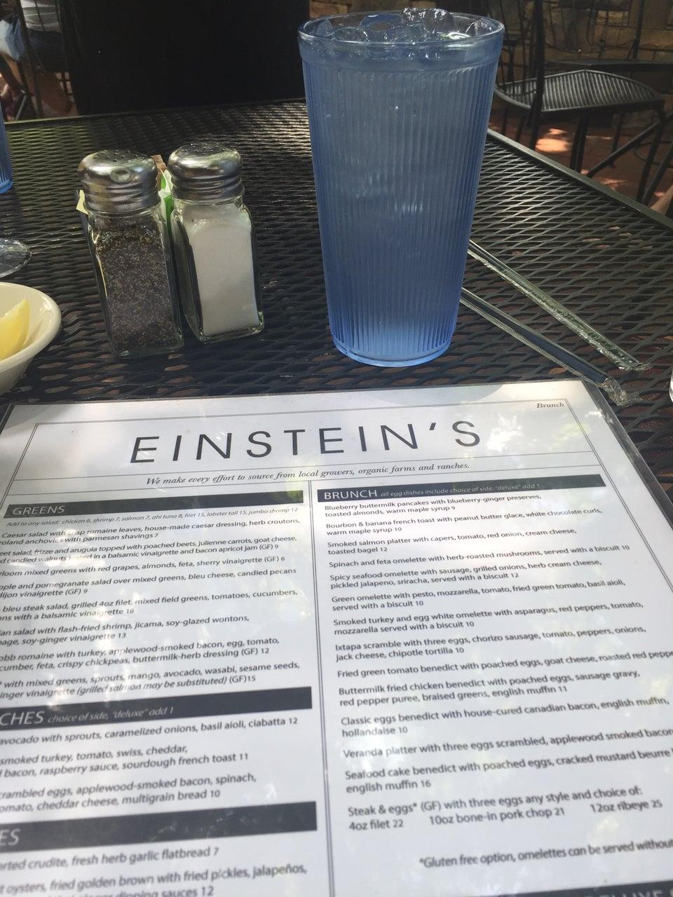 Photo of Einstein's