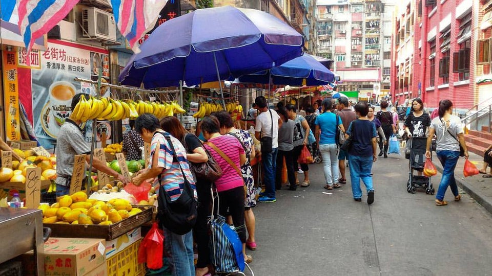 紅街市 (Red Market)・市場の買い物